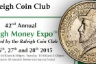 2015 Raleigh Money Expo Show Schedule