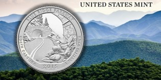 U.S. Mint to Launch Blue Ridge Parkway Quarter June 25