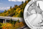 America the Beautiful Five Ounce Silver Uncirculated Coin™ – Blue Ridge Parkway Available July 7
