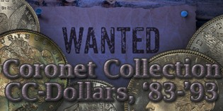 Spotlight on the Coronet Collection's Carson City Morgan Dollars, Part 2: 1883 – 1893