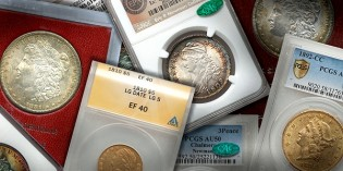 Wide Assortment of Classic U.S. Coins & Holders in Summer FUN Auction