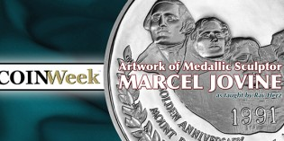 The Artwork of Medallic Sculptor Marcel Jovine – VIDEO: 6:16.