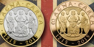 The Magna Carta 800th Anniversary 2015 UK £2 Coin