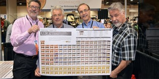 "PCGS Giving Away ""Periodic Table Of U.S. Coins"" Posters At Four Shows. Video: 2:31."