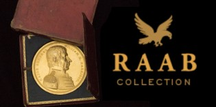 Rare Early American Congressional Gold Medal up for Sale