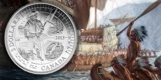 Royal Canadian Mint Honors 400th Anniversary of French Explorers in Ontario with Silver Coin