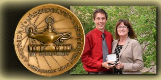 Steven Roach Named ANA Outstanding Young Numismatist of the Year