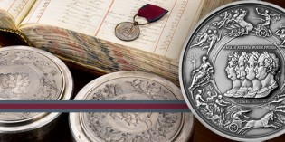 UK Releases New Waterloo Medal Inspired by Pistrucci