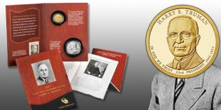 Harry S. Truman Coin and Chronicles Set Available June 30