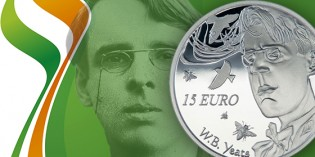 Central Bank Issues Coin Commemorating Irish Poet William Butler Yeats