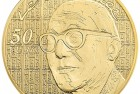 France 2015 The 7 Arts: Le Corbusier 50 Euro Gold Coin