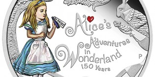 Tuvalu 2015 150th Anniversary of Alice's Adventures in Wonderland Silver Proof Coin