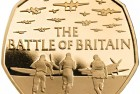 United Kingdom 2015 Battle of Britain 50p Gold Coin Proof