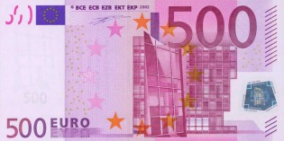 European Central Bank Ends Production, Issuance of €500 Banknote