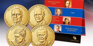 2015 Presidential $1 Coin Uncirculated Set™ on Sale July 21