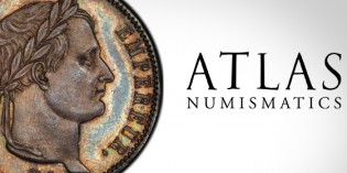 Atlas Numismatics Publishes August Fixed-Price List