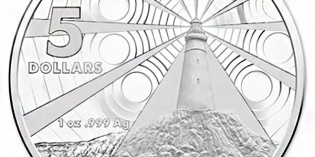Australia 2015 Lighthouse Aid to Navigation $5 Silver Frosted Uncirculated Coin