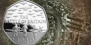Royal Mint Marks 75 Years Since Battle of Britain with Precious Metal Coins