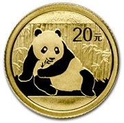 2015 1/20 oz Chines Gold Panda