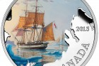 Canada 2015 Lost Ships in Canadian Waters: Franklin's Lost Expedition $20 Silver Coin
