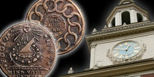 Story of the Fugio Cent of 1787 – VIDEO: 2:15.