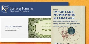 Kolbe & Fanning to Offer Margo Russell's Numismatic Library – Video: 4:44.