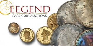 Legend Rare Coin Auctions' Regency XII Takes in $6.09 Million