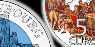 Luxembourg to Issue Castle Brandenburg Silver-Niobium Coin, Congress of Vienna Silver Coin