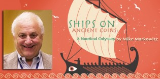 Mike Markowitz to Discuss Ships on Ancient Coins at Whitman Baltimore Coin Expo