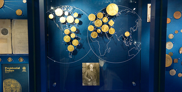 Coins from the Lilly Collection at the Smithsonian Institution