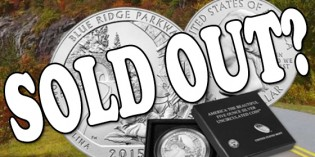 2015 Blue Ridge Parkway 5 oz. Silver Uncirculated Coin Available Now