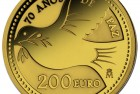 Spain 2015 70 Years of Peace 200 Euro Gold Coin