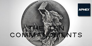 APMEX Announces Exclusive Release of Ten Commandments Silver Coin