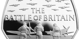 United Kingdom 2015 Battle of Britain 50p Silver Coin Proof