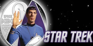 Perth Mint Releases Commemorative Spock Coin