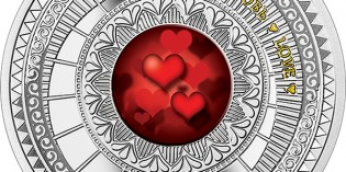 Niue 2015 The World of Your Soul – Love $1 Silver Coin