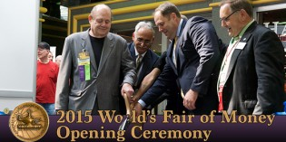 ANA World's Fair of Money Opening Ceremony, August 2015 – VIDEO: 11:23.