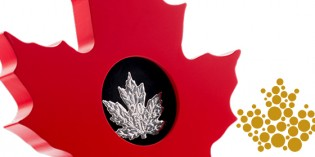 World's First Maple Leaf-Shaped Coin Headlines Royal Canadian Mint's New Release of Collector Coins