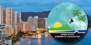 52nd Hawaii State Numismatic Association Coin Show Oct. 23