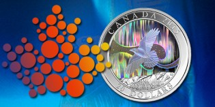 Royal Canadian Mint Unveils Northern Lights Collector Coin in Canada's North