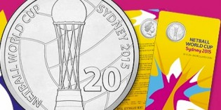 Make Your Own Royal Australian Mint Counter-Stamped Coin at Netball World Cup SYDNEY 2015