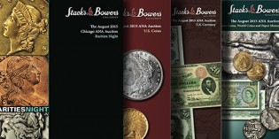 Stack's Bowers Invites You to be Part of the Official ANA World's Fair of Money Auction in August 2015