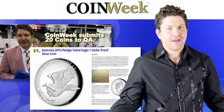 CoinWeek Weekly Report – August 31, 2015 – Video: 7:57