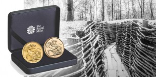 Looking Back to Wartime Britain: The Royal Mint's Centenary Sovereign Set