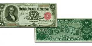 Stack's Bowers Auction Preview: Fr. 374 1890 $20 Treasury Note