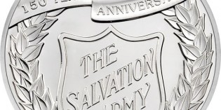 Alderney 2015 Salvation Army 150th Anniversary £5 Proof Silver Coin