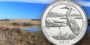 U.S. Mint to Launch Bombay Hook Quarter September 18