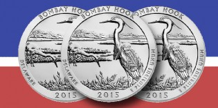 Bombay Hook America the Beautiful Quarters Three-Coin Set™ Available Oct. 6