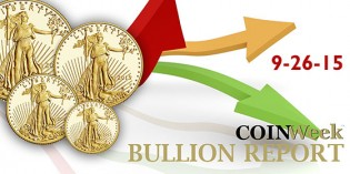 CoinWeek Bullion Report – September 26, 2015 – Video: 2:55