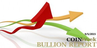 CoinWeek Bullion Report – September 5, 2015 – Video: 2:47